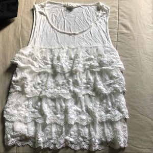 Forever 21 Lace layered shirt